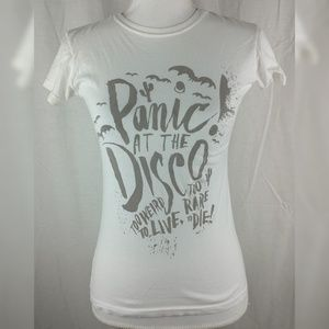 Tops - Panic at the Disco! Too Weird To Live Band Shirt
